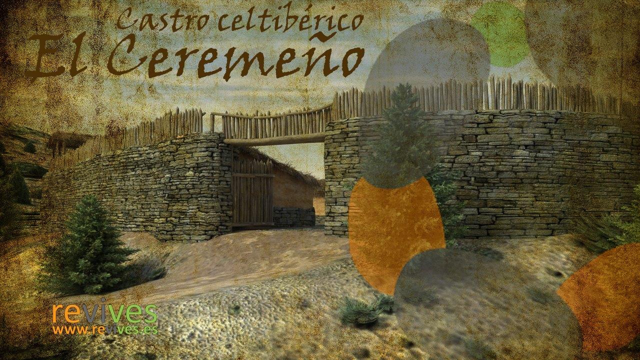 Reconstrucción 3D del yacimiento celtibérico de El Ceremeño