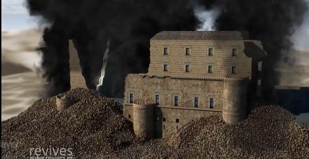Destrucción Alcázar de Toledo