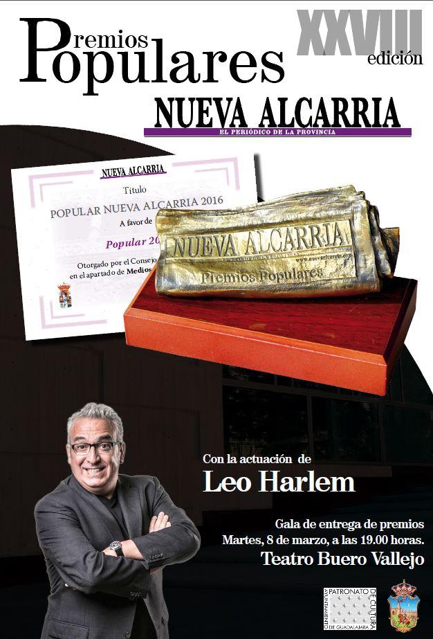 Premios Nueva Alcarria Leo Harlem teatro Buero Vallejo