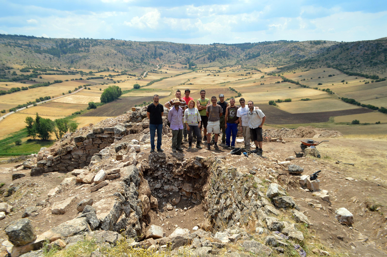 Fin de campaña 2016 excavación arqueológica en Checa